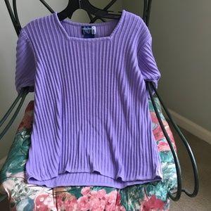 💜 EUC Venezia Jeans Purple Sweater, 14/16